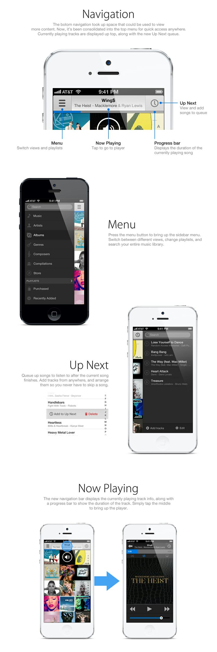 Great iOS Music App Concept