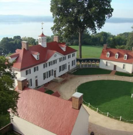Mount Vernon George Washington Estate just outside of Washington DC