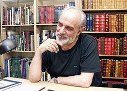 Aydin Aghdashloo (Persian: آیدین آغداشلو, Azerbaijani: Aydın Ağdaşlı; born October 30, 1940; Rasht, Iran) is an Iranian painter, author, art critic, art historian and graphic designer