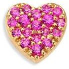 Loquet Heart Pink Sapphire & 18K Yellow Gold Charm $400 At Saks Fifth Avenue From the Love Collection. Elegant sapphire & gold heart to place inside locket. Pink sapphires. 18k yellow gold. Width 5.5mm. Locket sold separately https://api.shopstyle.com/action/apiVisitRetailer?id=618823449&pid=uid841-37799971-81