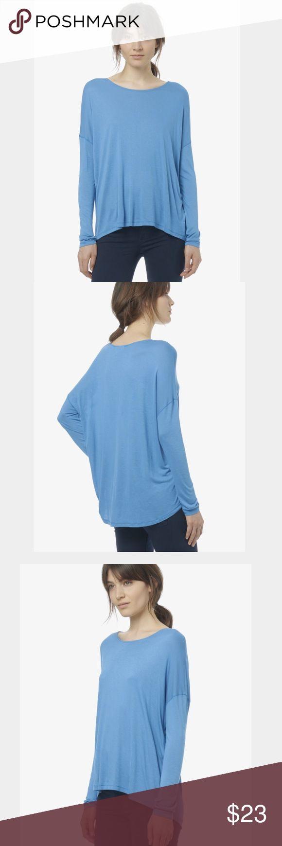 Vince long sleeve t-shirt 👢 EUC Vince long sleeve drop shoulder loose blue t-shirt, chic and comfy 👢 Vince Tops Tees - Long Sleeve