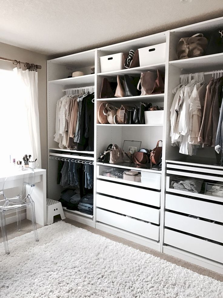 120 Brilliant Wardrobe Ideas For First Apartment Bedroom Decor – #apartment #bed…