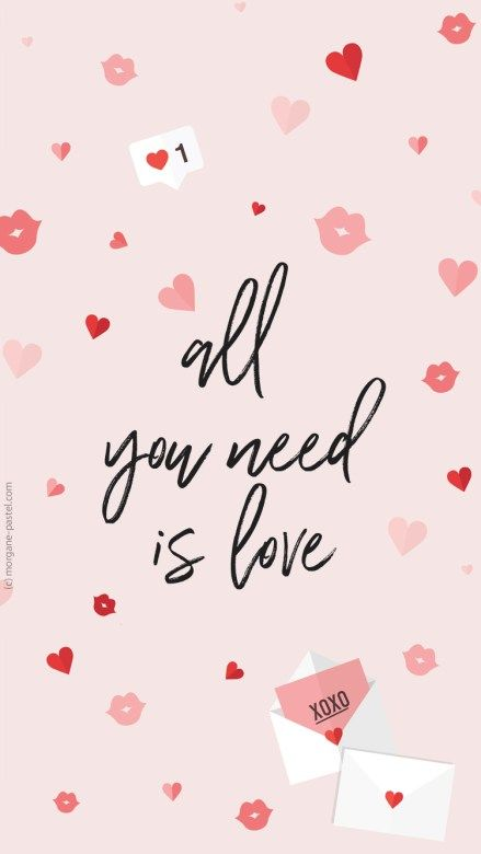 Fond D écran All You Need Is Love Février 2018 Fond