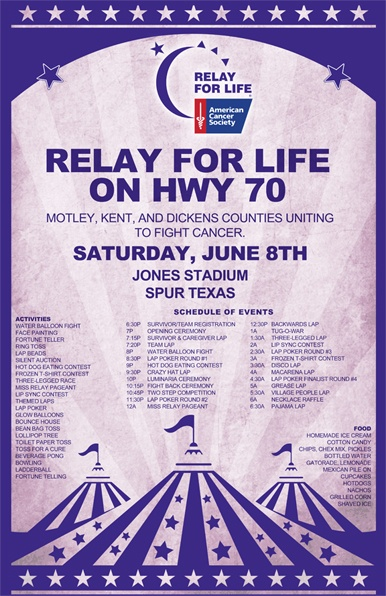 17 best images about relay for life on pinterest for Relay for life flyer template