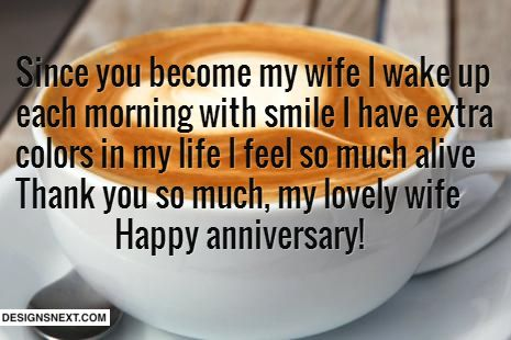 Awesome Anniversary wishes for Wife http://www.designsnext.com/?p=28550
