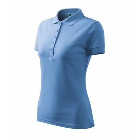 Dames Pique Polo Een dames polo shirt met korte mouwen gemaakt van pique stof. Elegante vrouwen polo. Mooie sterke polo van katoen en polyester zodat hij ook extra kleur vast is. Een uitgebreide smalle kraag met 5 knopen. Strekt diep langs de zijkanten. Het shirt is zeer geschikt om te bedrukken of te borduren en daardoor is het perfect in te zetten als relatiegeschenk , promotioneel of als bedrijfskleding. Specificatie: 200 g / m2, Pique, 65% katoen, 35% PES, Pique Maat: S, M, L, XL, XXL