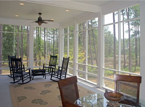 screened in porch....this is what I want for my back porch