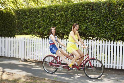 Tandem bike ride along the river ?! :D