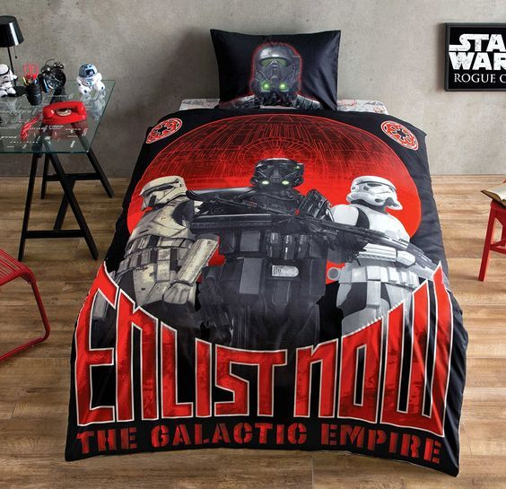 Amazon.com: Star Wars Single/Twin %100 Duvet Cover Set Bedding Linens - Special Serial - 4 Pcs (Quilt included) (Star Wars C-3PO): Home & Kitchen