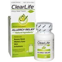 Clear Life Best Allergy Medicine ever. All Natural!