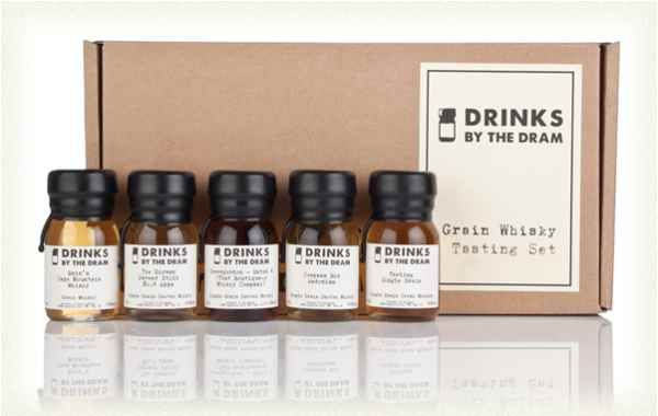 When most people think of Scotch they think of single malts, overlooking the grain whisky - a style of whisky distilled from various grains, made in column stills. There are some extraordinary grain whiskies out there, so we created this set of five 3cl samples to demonstrate this underrated style.