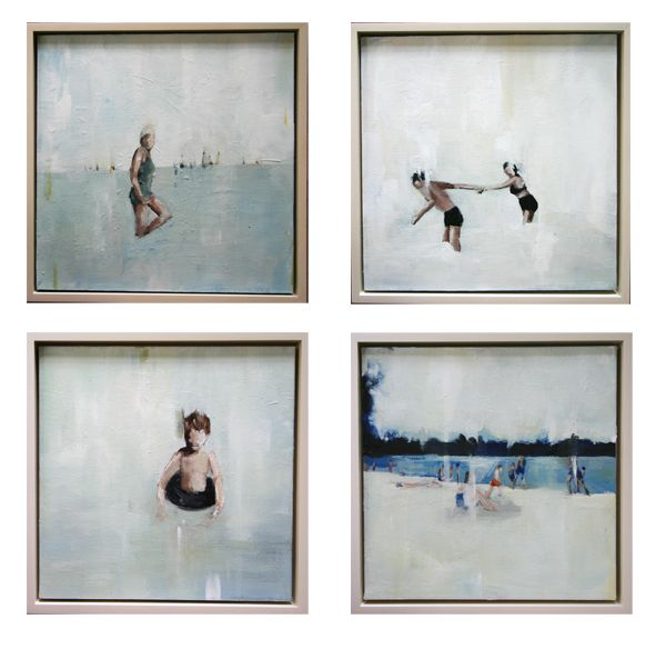 | summer paintings by Lisa Golightly |
