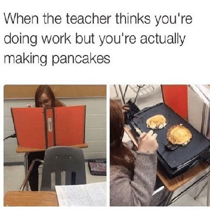 Image result for making pancakes in class