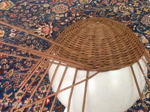 Плетение Немного работ и МК загибки и плетение переходов Бумага газетная фото 16