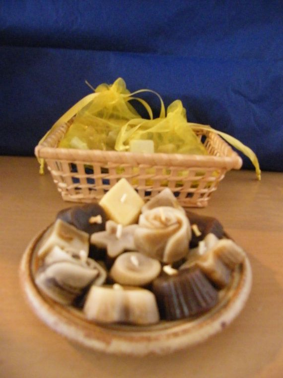 Mini Chocolate Scented Floating Chocolate Candles by artofcandles, £2.99