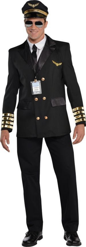 Adult Captain Wingman Pilot Costume