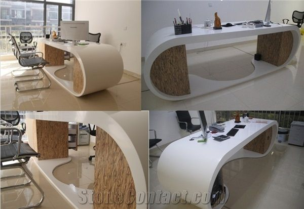 Tw Hot Selling Good Quality Conference Office Desk,Modern Curved ...