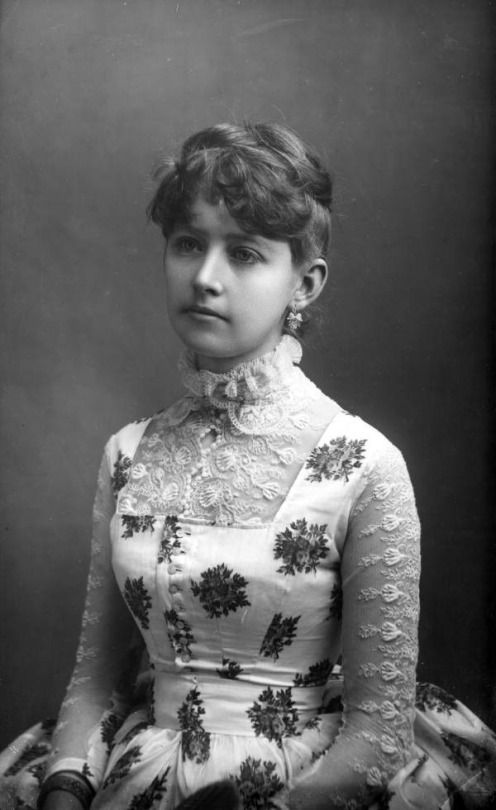 Real Photo Of A Young Woman Circa 1880s State Archives Florida From SoYouThinkzyouCanSee
