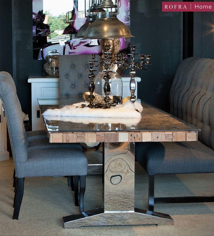 chique eethoek rofra home inspiratie eethoek rofra home pinterest. Black Bedroom Furniture Sets. Home Design Ideas