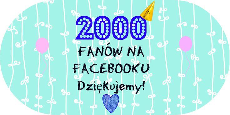 2000 obserwatorów fanpage https://www.facebook.com/pages/Recenzentka-ksi%C4%85%C5%BCek/531155103668925