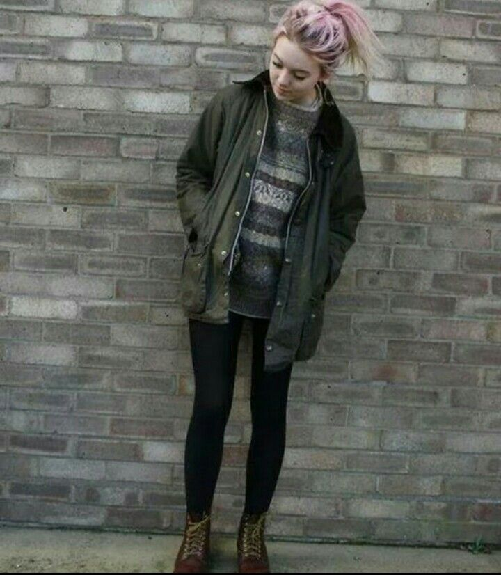 Grunge girl http://spotpopfashion.com/wwf9
