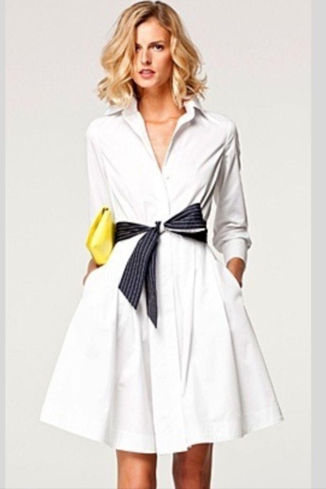 Precioso vestido camisero