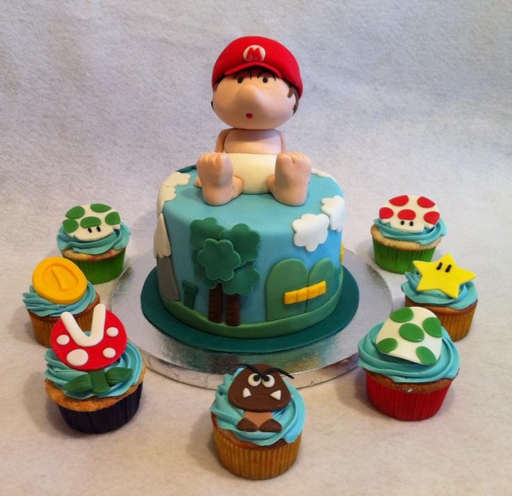 Super Mario baby from Yoshi's Island, January 2012