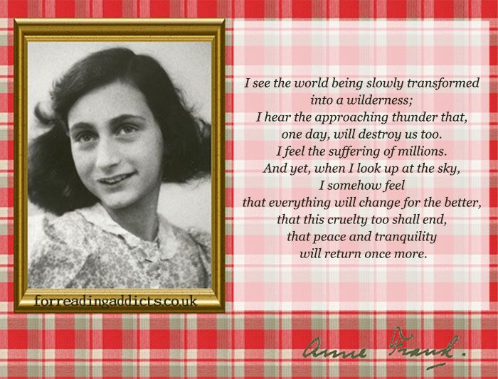 10 Anne Frank Quotes to Fill You With Hope