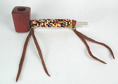 catlinite pipestone pipe oglala lakota