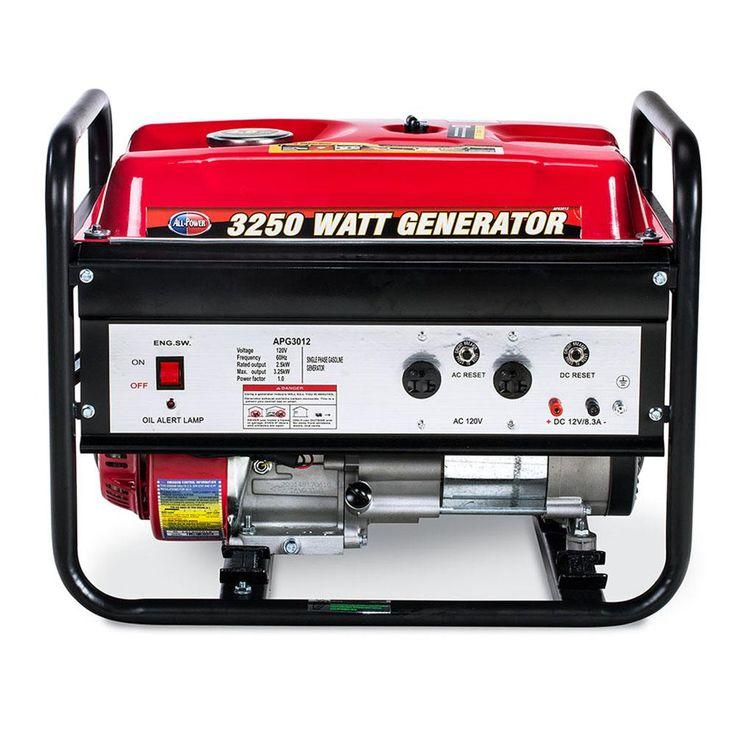 All Power 2500Watt Gasoline Powered Portable Generator