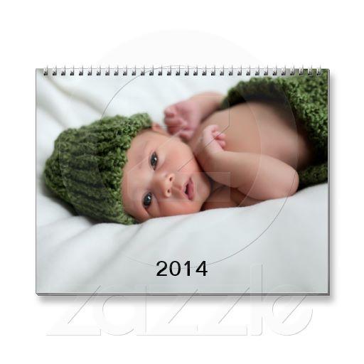Personalized Custom Photo Calendar