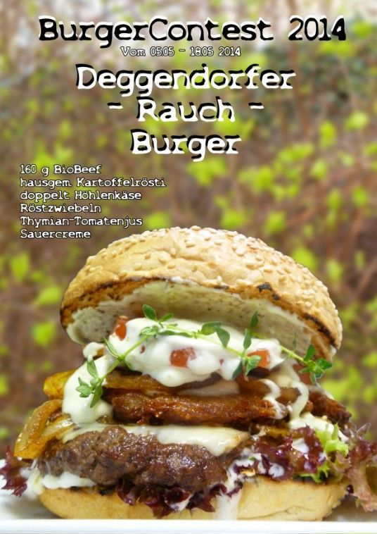 Deggendorfer Rauch Burger