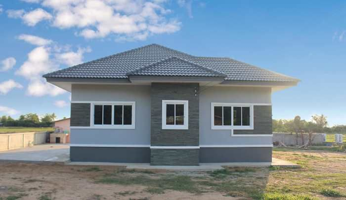 Three Bedroom Bungalow With Impressive Exterior Pinoy Eplans Beautiful House Plans House Plan Gallery House Construction Plan