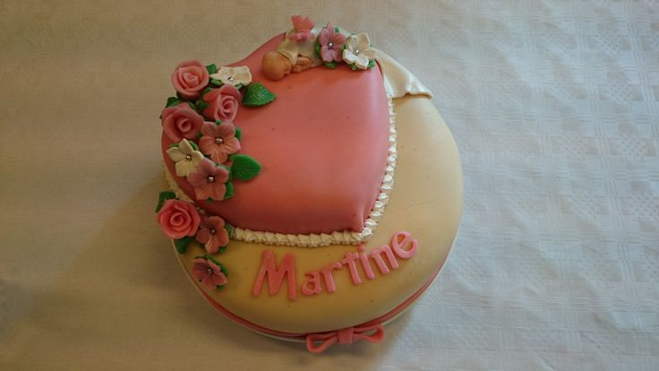 Traditional cake with a marsipan cover.