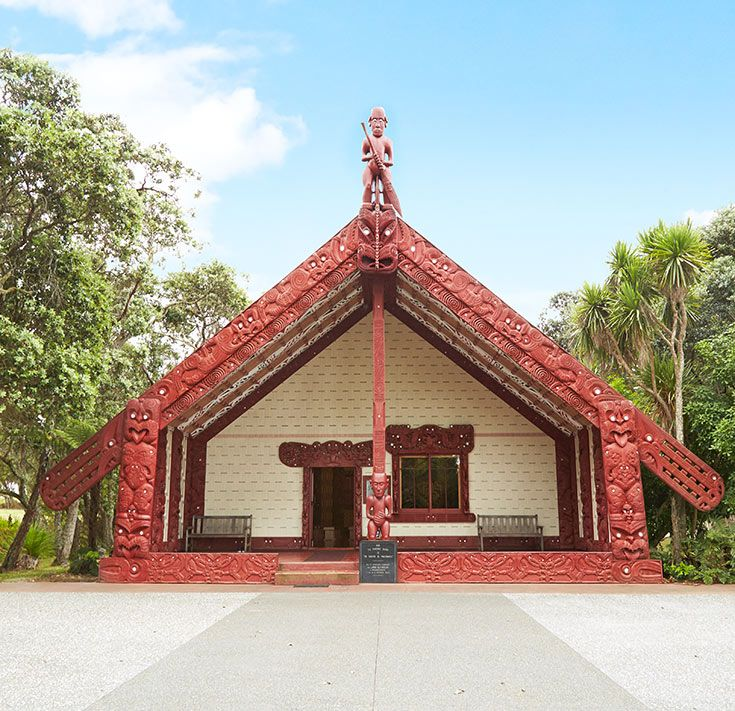 In one day at Waitangi, you'll learn a huge amount about Maori culture and the early history of New Zealand. It's the place where the Treaty of Waitangi was signed in 1840 between the British Crown and more than 500 Maori chiefs. The treaty agreed the terms by which New Zealand would become a British colony.