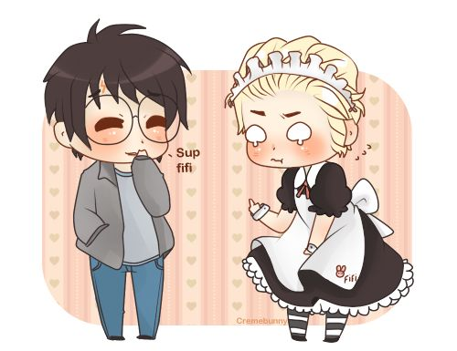 Drarry Chibi: Fifi By Cremebunny.deviantart.com On