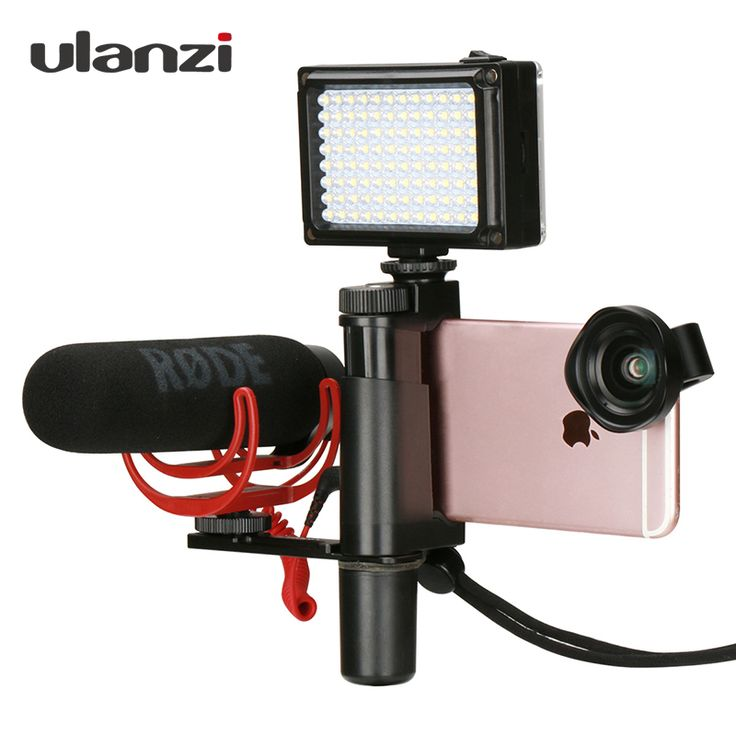 Ulanzi Phone Video Stabilizer Handheld Smartphone Video Shooting Equipment Filming Video Live Streaming Mount Holder Grip Tripod Click visit to check price #camera
