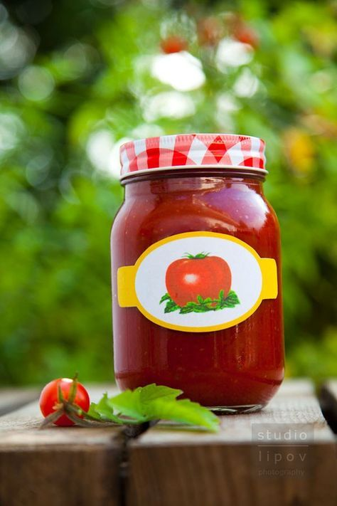 przepis na domowy ketchup