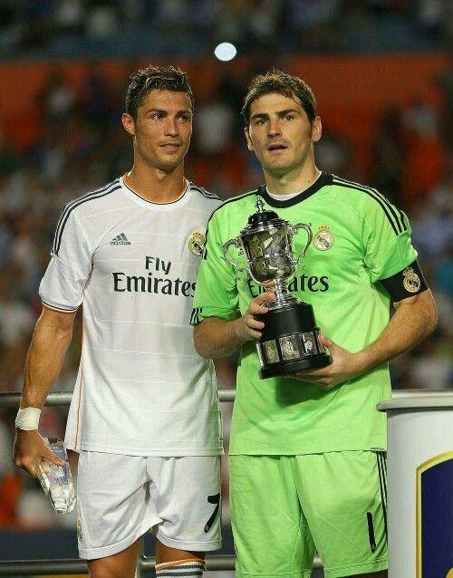 Cristiano Ronaldo & Iker Casillas.