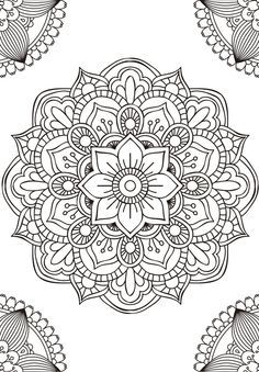 Dibujos Mandala, Adult Coloring, Mandala Drawing, Colorear Adulto, Coloring Mandala, Mandalas, Mandala Coloring
