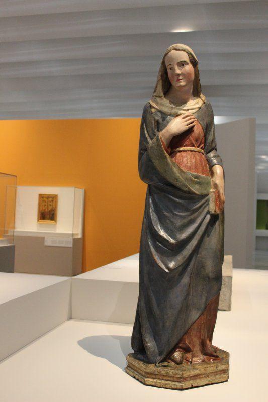 Vierge de l'Annonciation (Tino di Camaino, Pise, avant 1315)