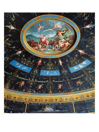 The Marriage of Poseidon and Amphitrite, Palazzo Milzetti a Faenza