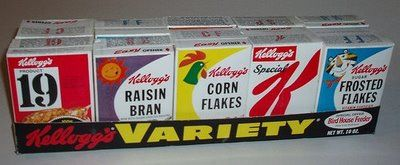Old School Variety Cereal Packs