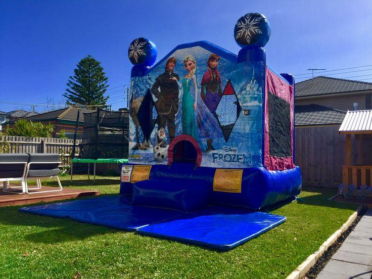 Frozen jumping castle hire Melbourne www.bongobounce.com.au