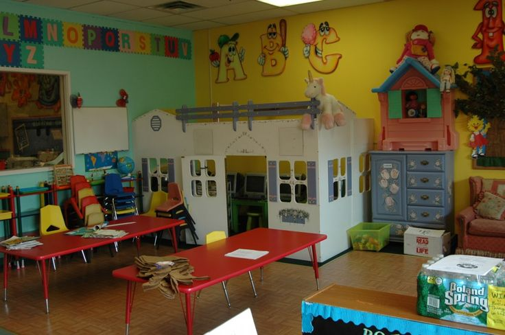 childcare pictures of setup | PreSchool, Daycare ...