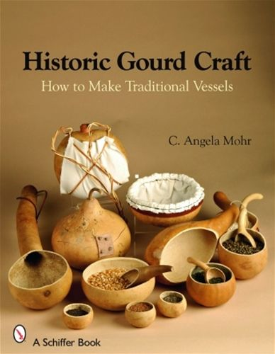 Historic Gourd Craft: How to Make Traditional Vessels Have you ever wondered what they used in the old days for eating? Well this book goes over the history of just that. In the first part of the book