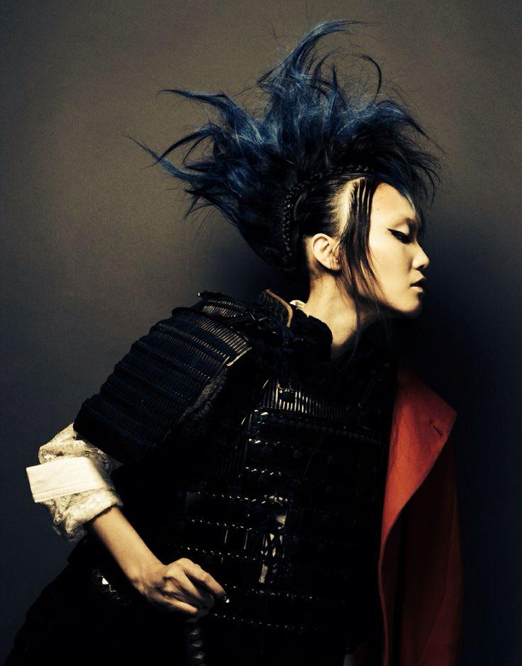 SHISEIDO  BEAUTY INNOVATNR AWARD2014 EXCELLENCE photographer/ sohei yanaoka stylist / kentaro okamoto hair&make / masaki takada model / yuka sekimizu