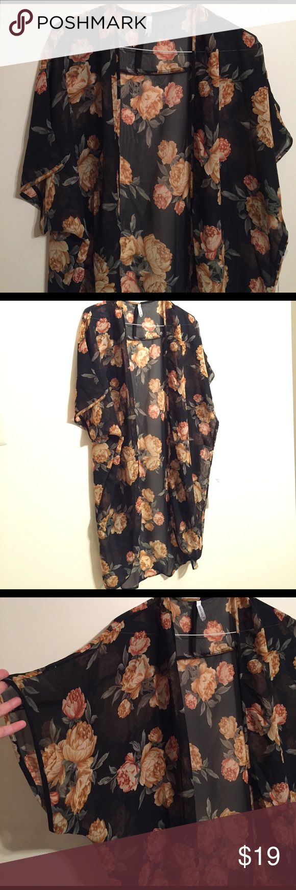 Sheer Cover up/Robe - New with tags Incredibly gorgeous cover up.  Similar to LuLaRoe Monroe. LuLaRoe Intimates & Sleepwear Robes