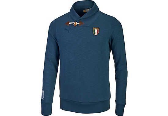 Puma Italy Azzurri Hoodie Sweater - Dark Denim