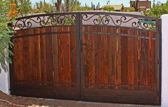 190 best images about privacy fence gates and walkway for Ready made driveway gates